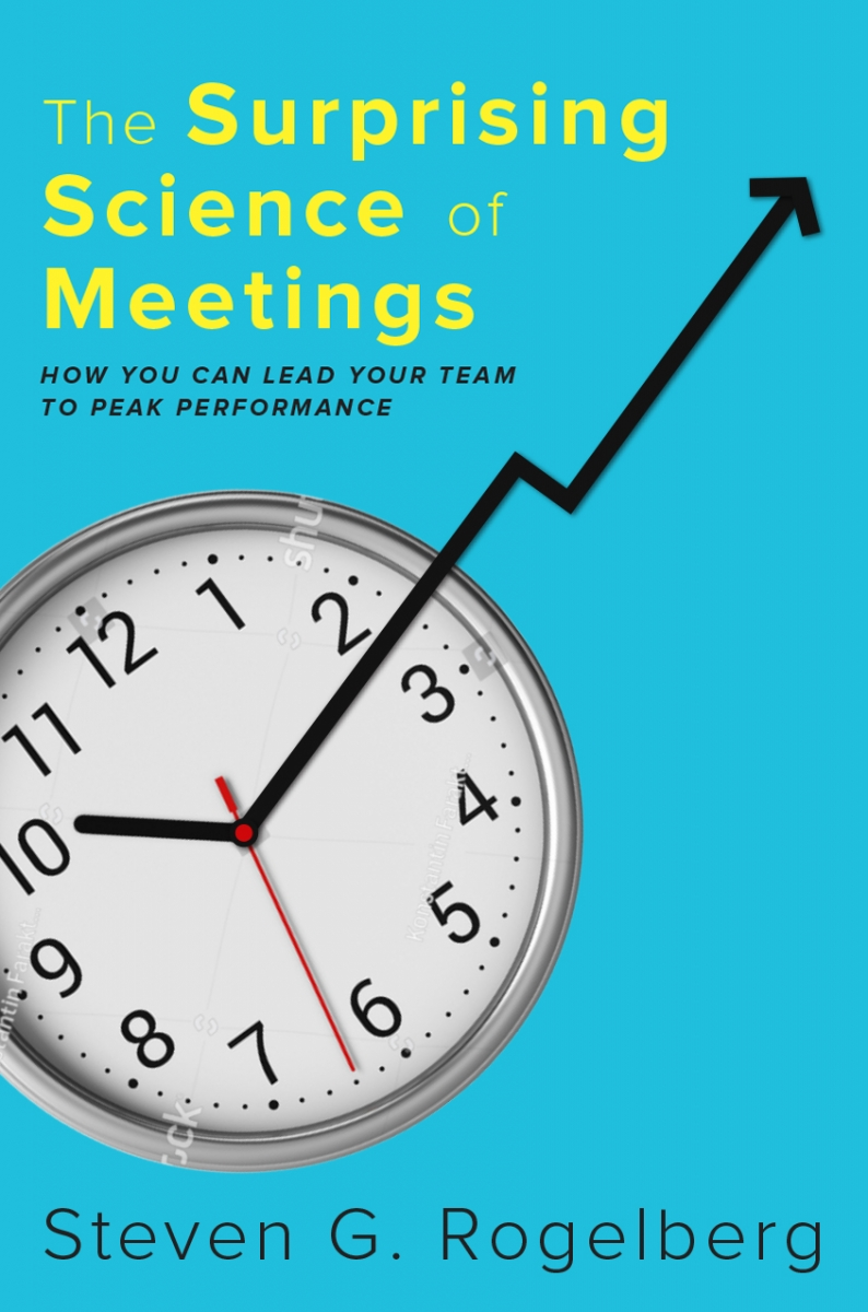 The Surprising Science of Meetings Book Cover